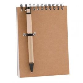 10-825 Bloc note Concern avec stylo personnalisé
