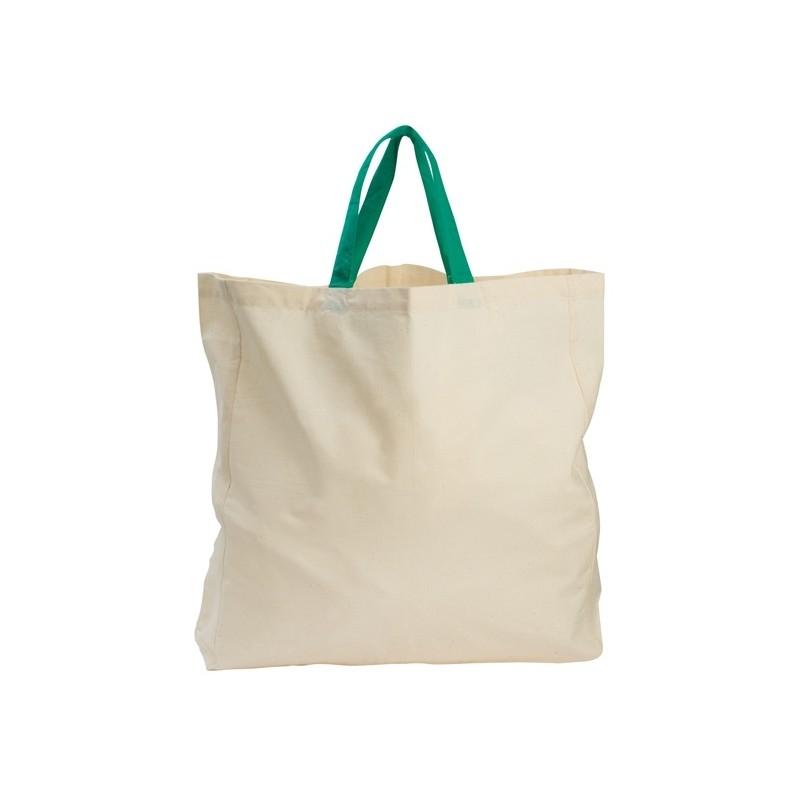 10-833 Sac shopping en coton organique Aloe personnalisé