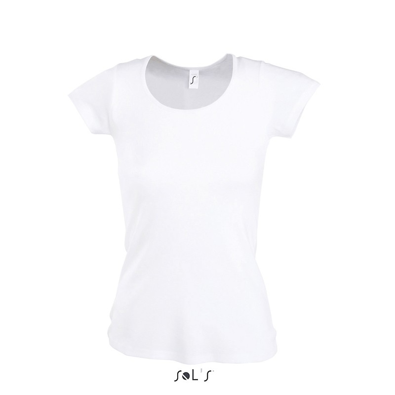 Tee shirt femme Moody - T-shirt manches courtes - marquage logo