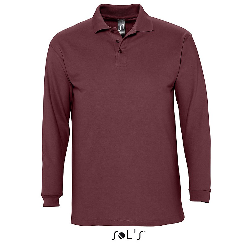 Polo homme Winter II - Polo manches longues - produits incentive