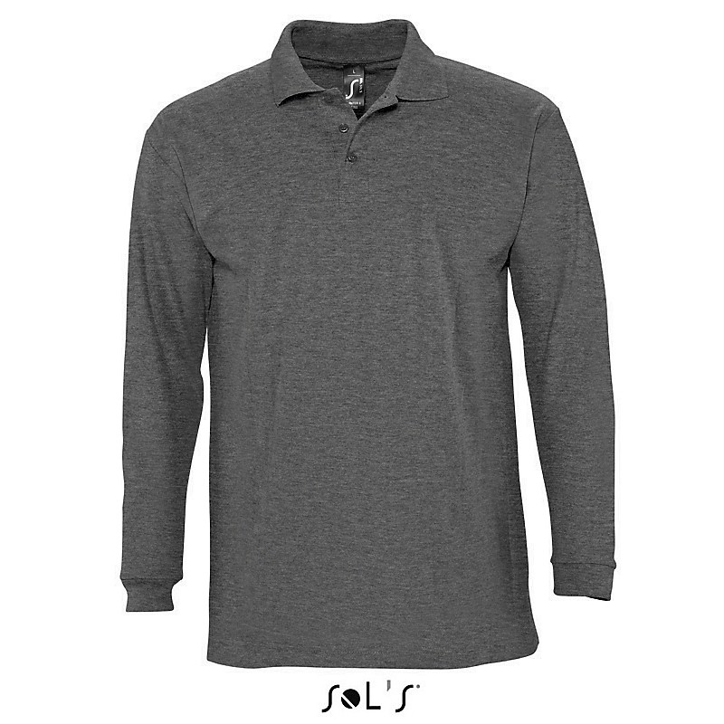 Polo homme Winter II - Polo manches longues sur mesure