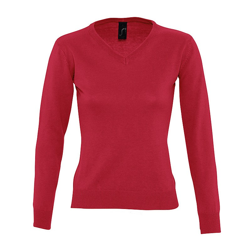 Pull femme col V Galaxy - Pull publicitaire