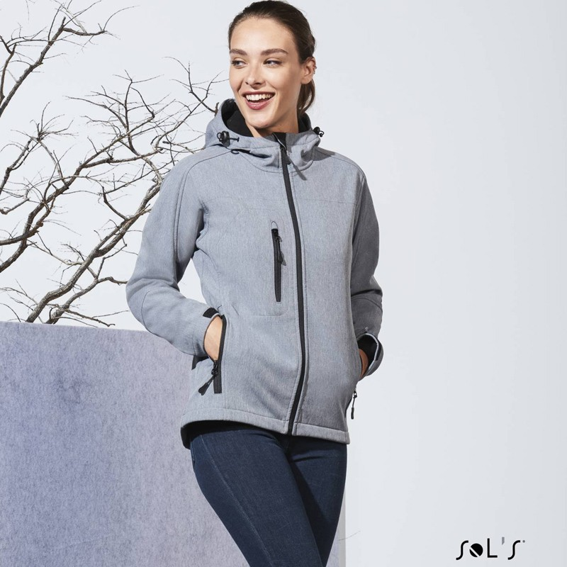 Softshell femme à capuche Replay - Softshell personnalisé