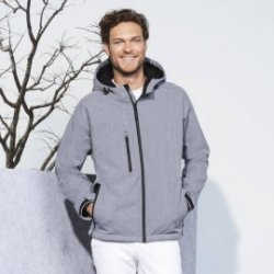 Softshell homme à capuche Replay