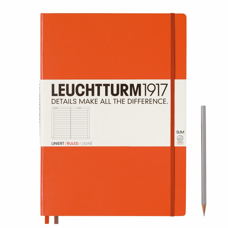 Carnet de notes LEUCHTTURM1917 - Bloc-notes A6 - objets publicitaires