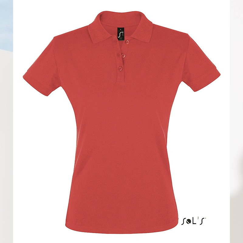 Polo femme Perfect - Polo manches courtes - marquage logo