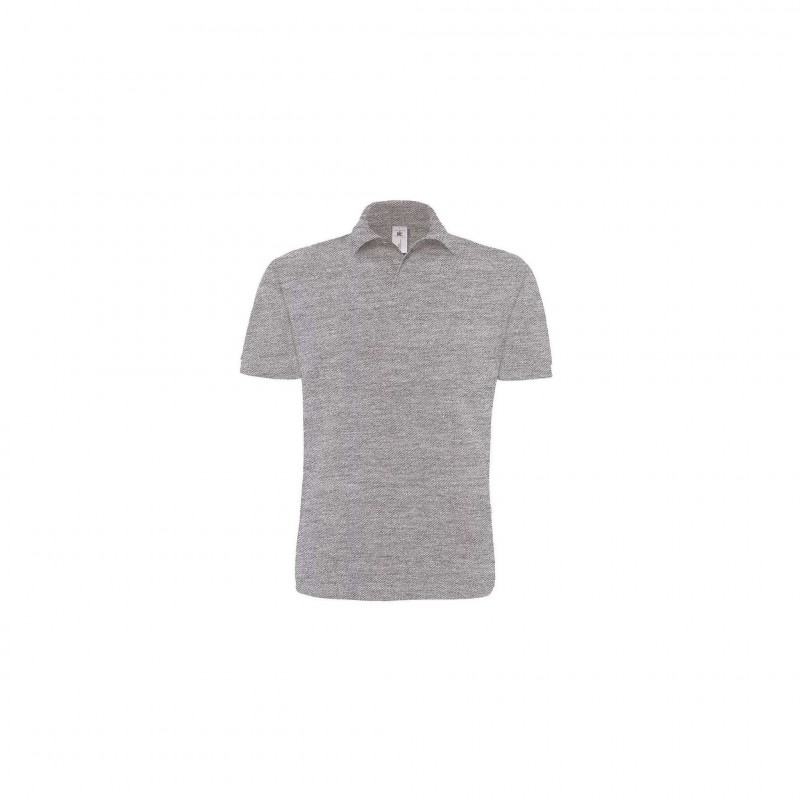 Polo homme Heavymill B&C - Polo homme - marquage logo