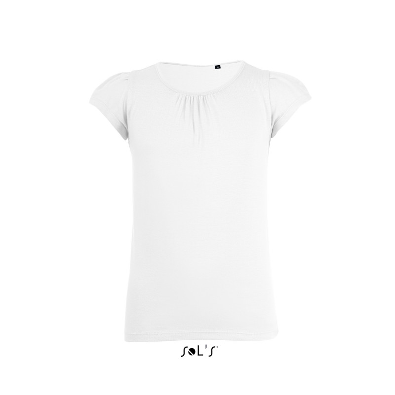T-shirt fillette Melody - T-shirt sur mesure