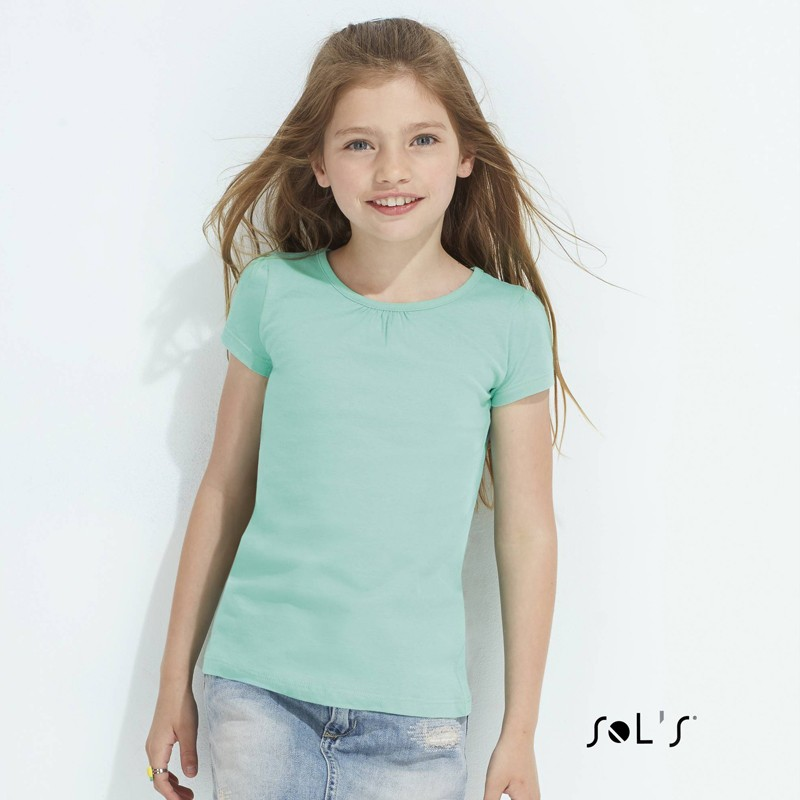 T-shirt fillette Melody - T-shirt personnalisé
