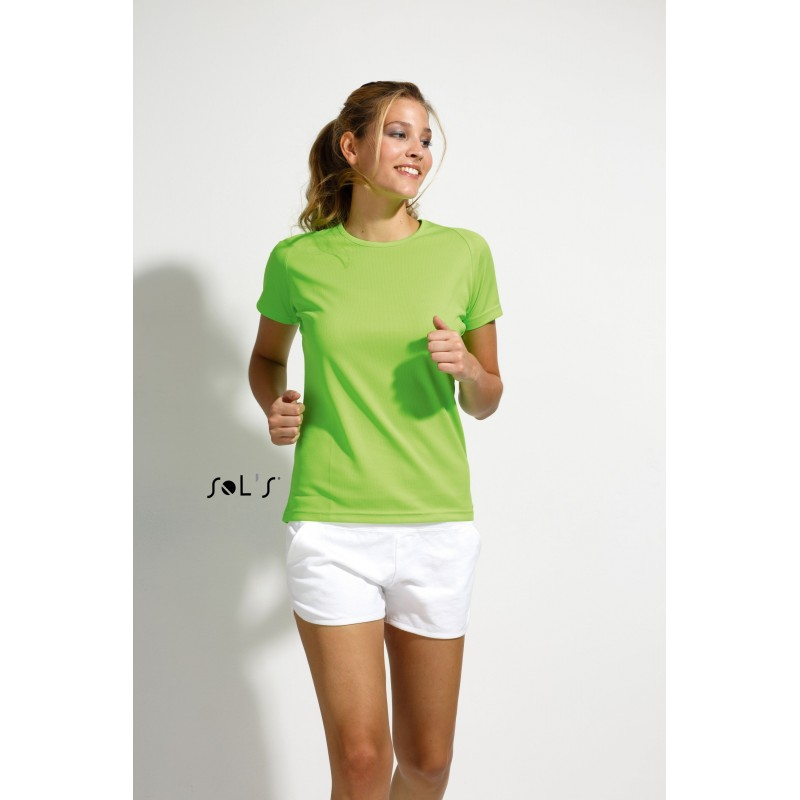 T-shirt femme Sporty Women - T-shirt technique - objets publicitaires