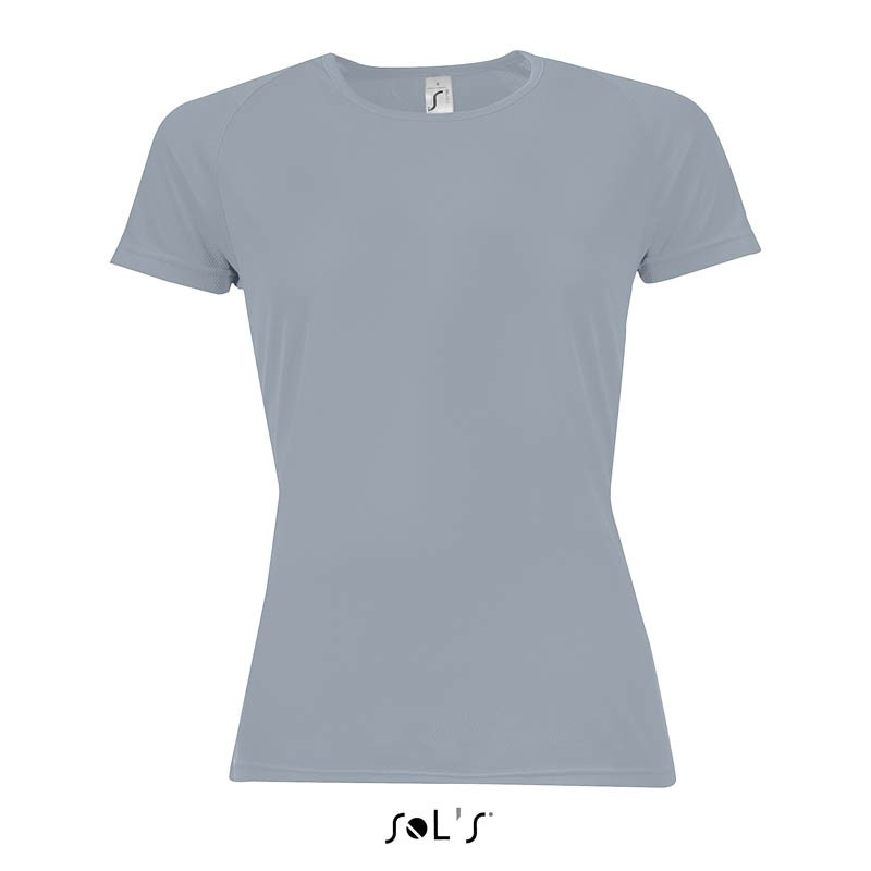 T-shirt femme Sporty Women - T-shirt technique - marquage logo