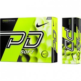 Balle de golf Nike power distance jaune