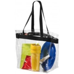 Sac de plage transparent