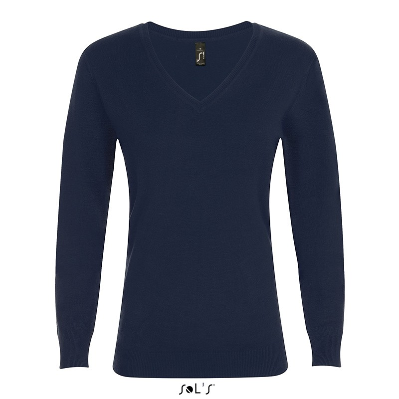 Pull col V Glory Women - Pull publicitaire