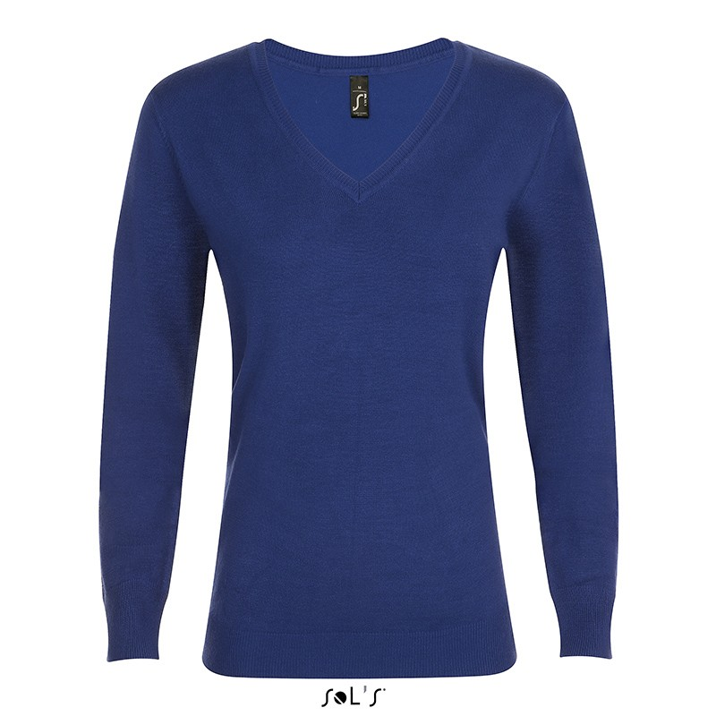 Pull col V Glory Women - Pull - objets publicitaires
