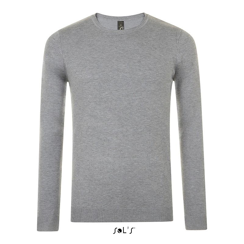 Pull col rond Ginger Men - Pull personnalisé