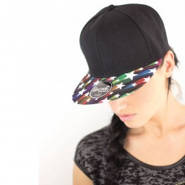 Casquette Snap color