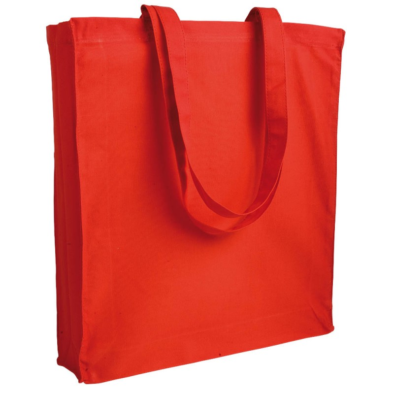Tote bag canvas à soufflet 280g/m2 - Tote bag  sur mesure