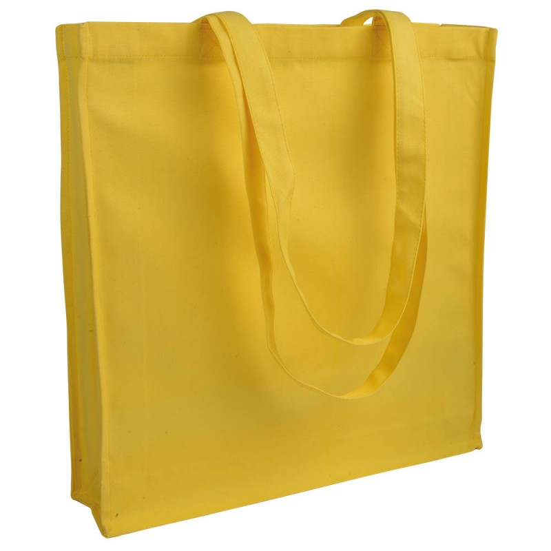 Tote bag canvas à soufflet 280g/m2 - Tote bag  - objets promotionnels