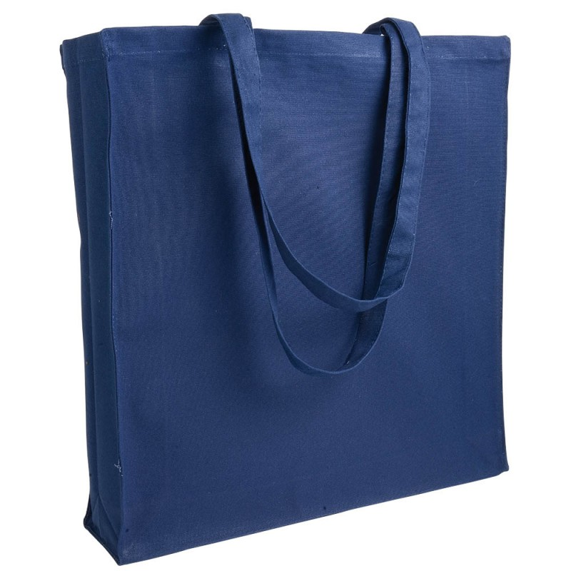Tote bag canvas à soufflet 280g/m2 - Tote bag  - cadeaux d'affaires
