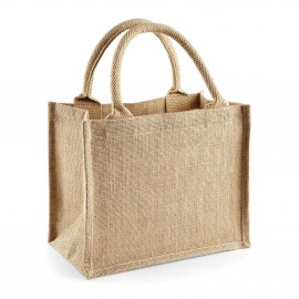 Petit sac shopping en jute