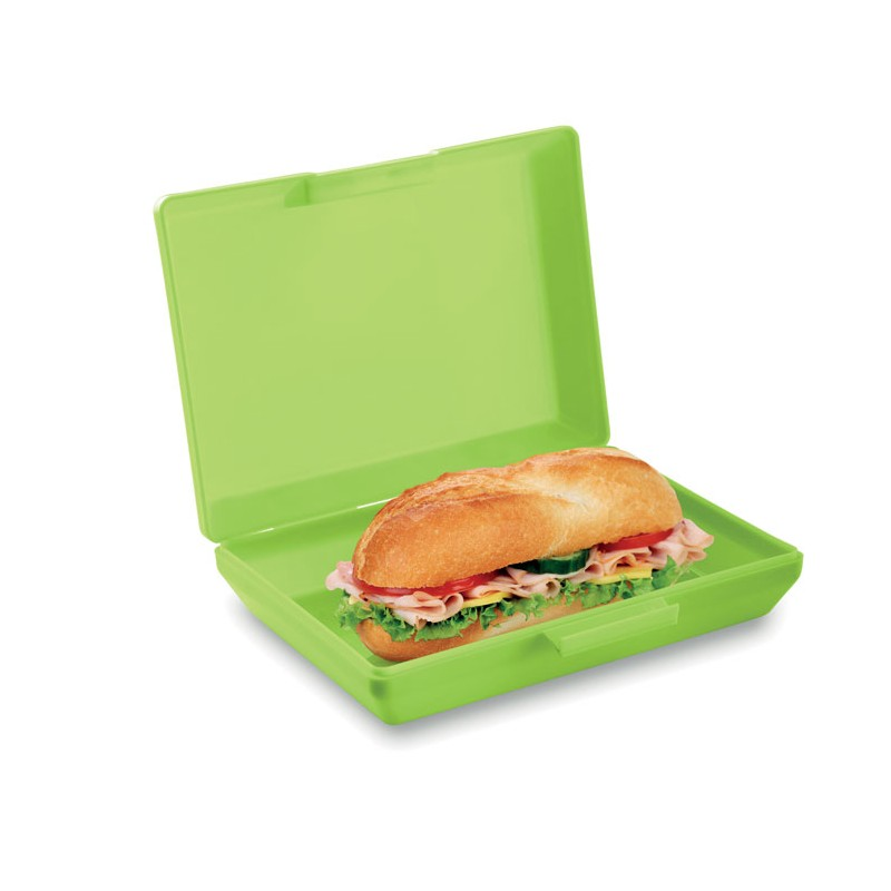 Lunch box en PP - Lunch box, bento publicitaire