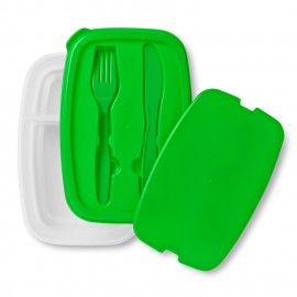 Lunch box et couverts