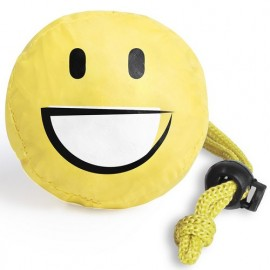 Sac shopping pliable emoji