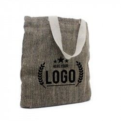 Sac shopping jute et coton