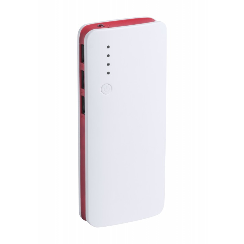 Power bank 3 ports USB - Batterie externe publicitaire