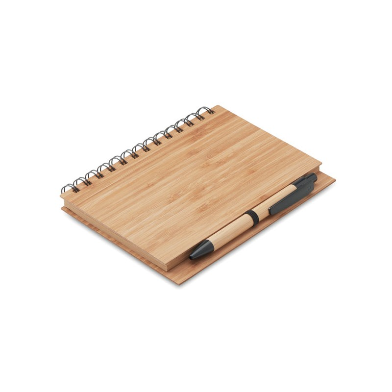 Carnet bambou - Bloc-notes A5 sur mesure