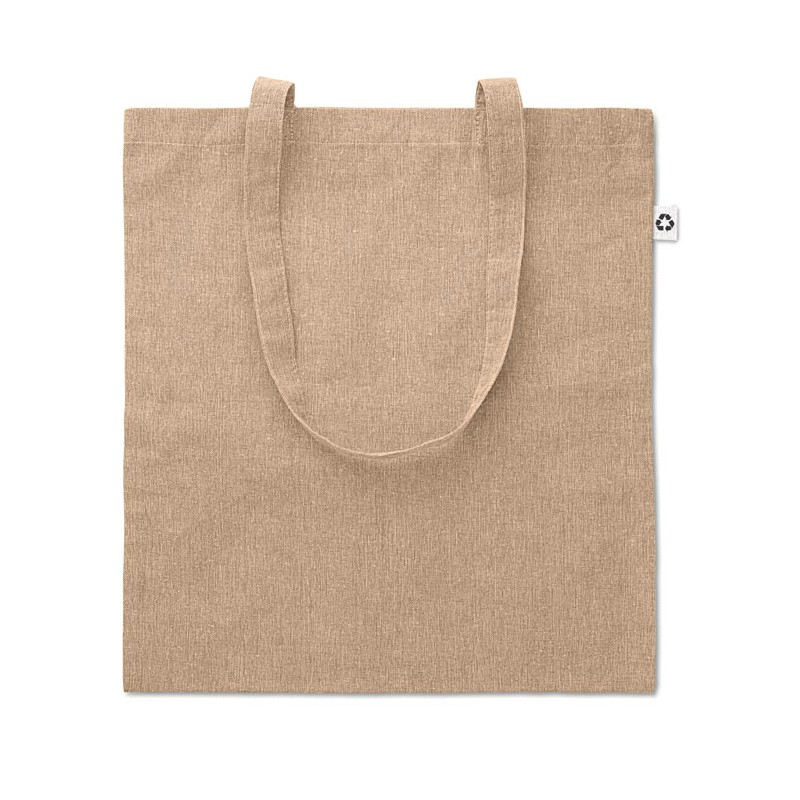 Sac shopping coton 2 tons - Sac shopping en coton sur mesure