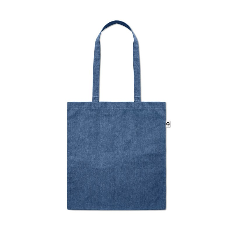 Sac shopping coton 2 tons - Sac shopping en coton - marquage logo