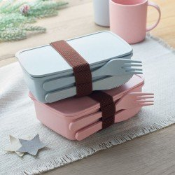 Lunch box pastel