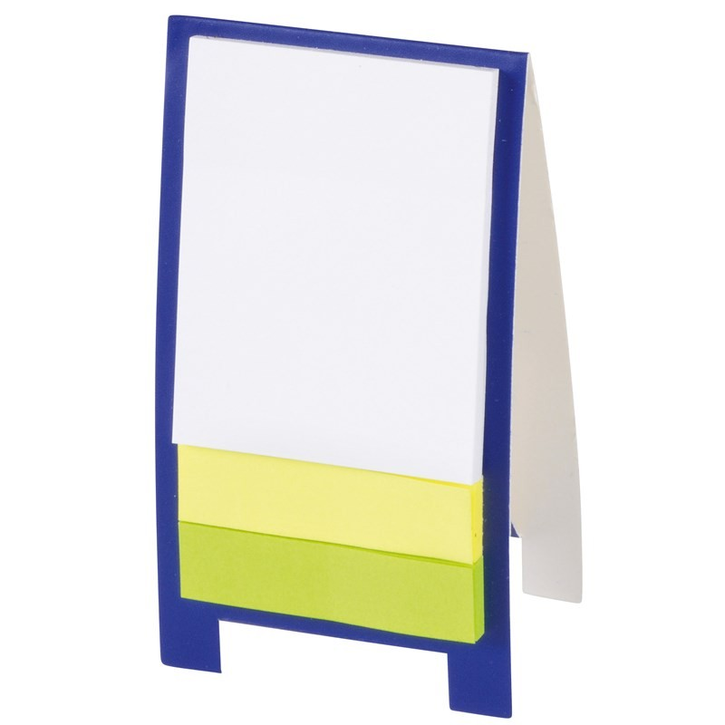 Mini chevalet de bureau - Post-it publicitaire, bloc-mémo - objets promotionnels