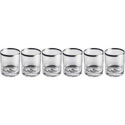 Set 6 verres à Whisky