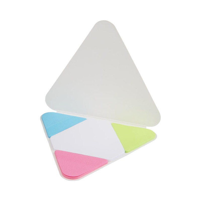 Memo autocollant triangle - Post-it, bloc-mémo - objets publicitaires