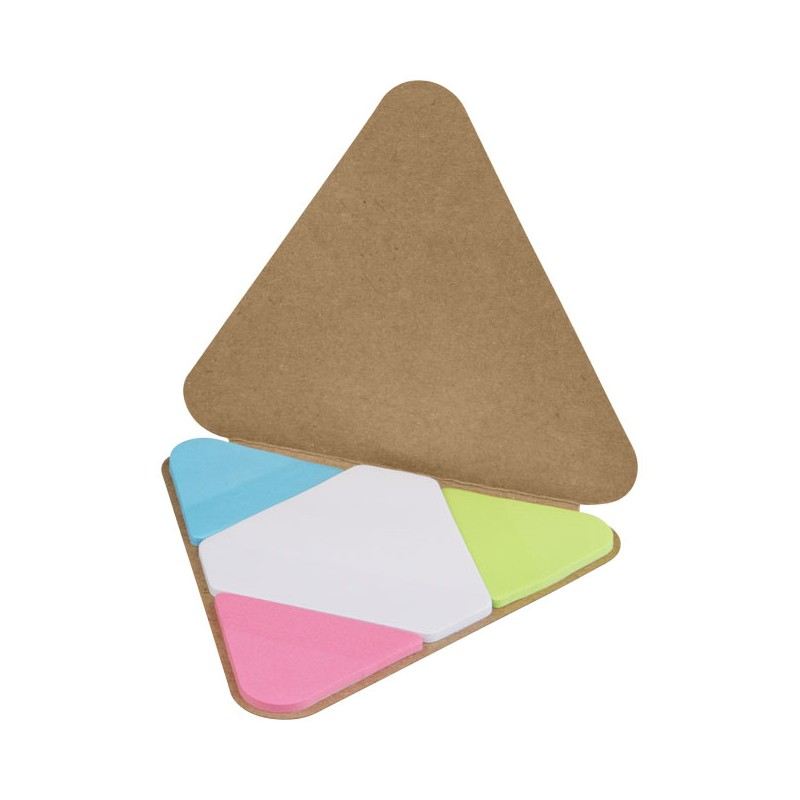 Memo autocollant triangle - Post-it, bloc-mémo sur mesure