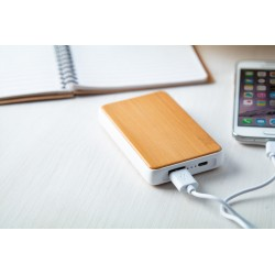 Power bank bamboo 4000mAh