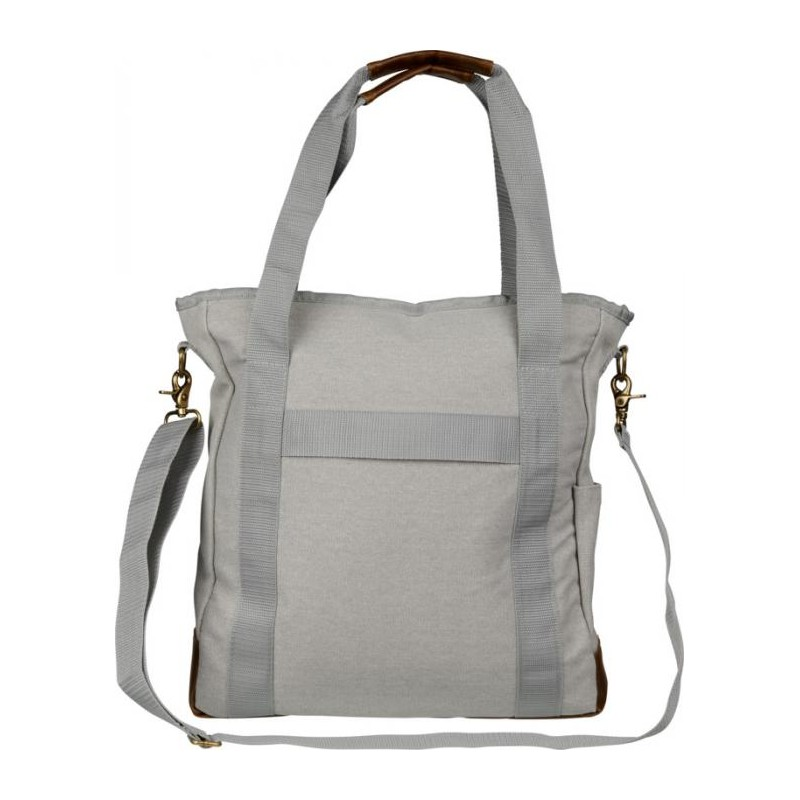 Sac shopping zippé canvas  - Sac shopping en coton - objets publicitaires