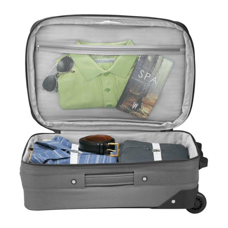 Trolley extensible personnalisable  - Valise, trolley publicitaires - produits incentive