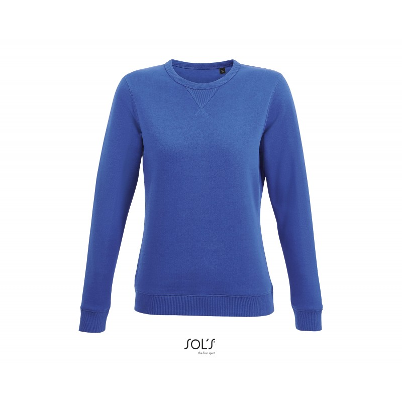 Sweat shirt femme Sully - Sweat-shirt publicitaire - marquage logo
