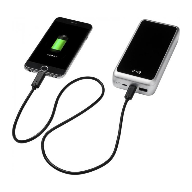 Chargeur à induction et powerbank - Batterie externe publicitaire