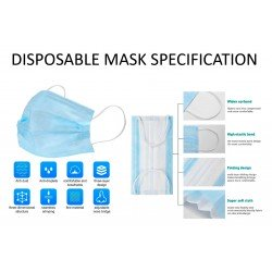 Masque respiratoire anti-projection