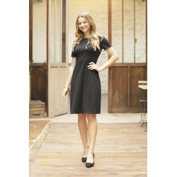 Robe Camille manches courtes
