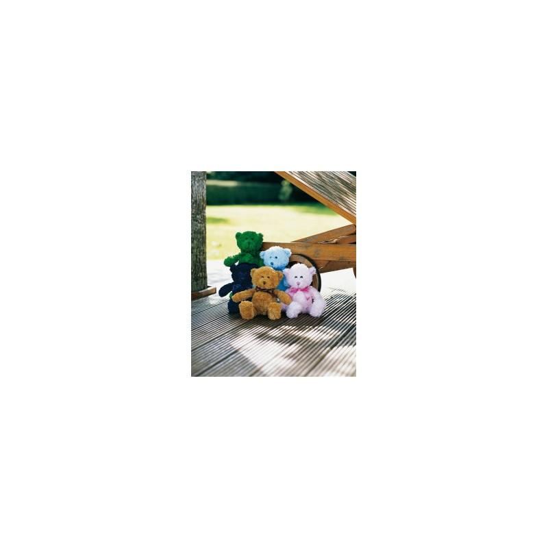 Peluche ours couleur Mumbles - Peluches publicitaire