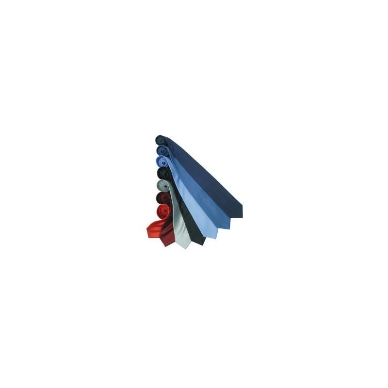 Cravate publicitaire en soie fine Premier - Cravate sur mesure