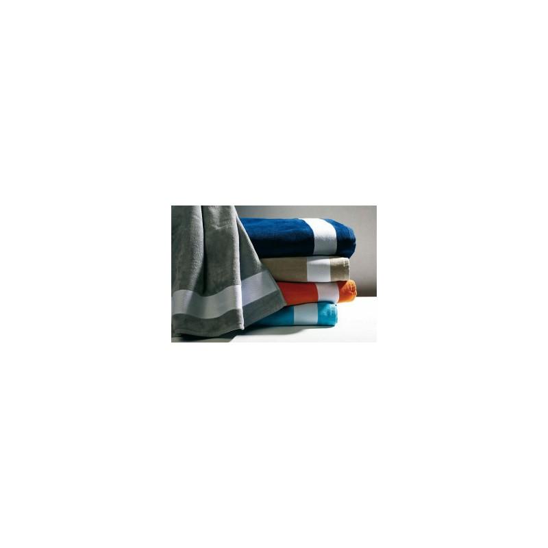 Drap de plage velours Kariban - Serviette et gant - produits incentive