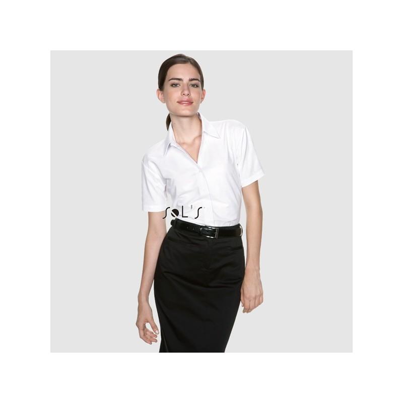 Chemisette femme Elite - chemise publicitaire femme - cadeau d'entreprise personnalisé
