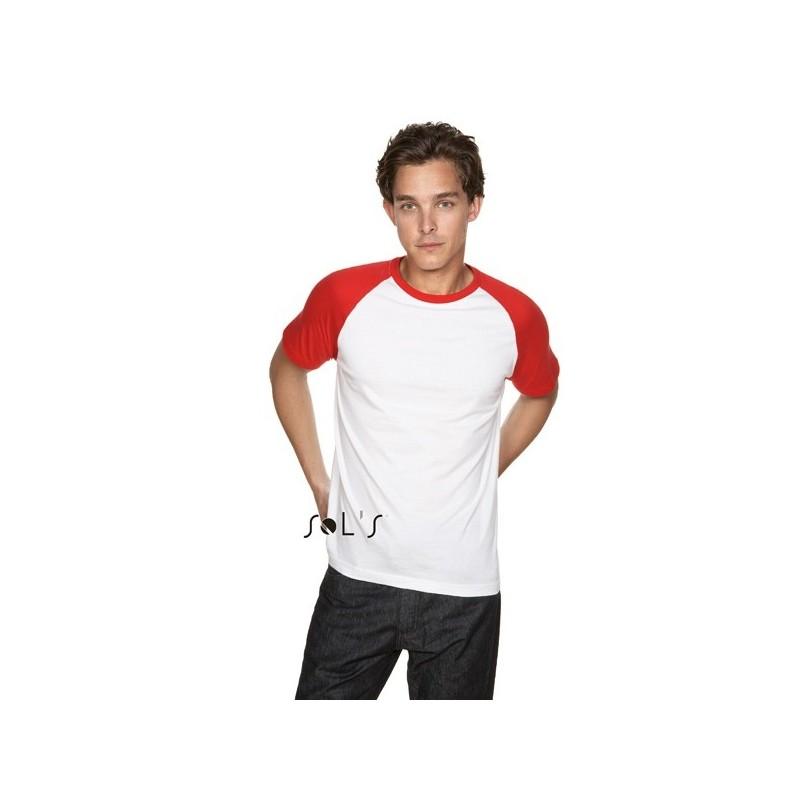 T-shirt publicitaire bicolore 150g Funky